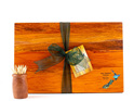 the great nz cheese board with paua nz map - heart rimu