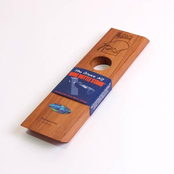 the great nz wine bottle holder - kiwi