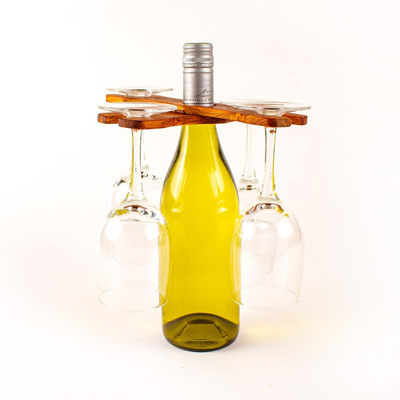 the great nz wine glass holder