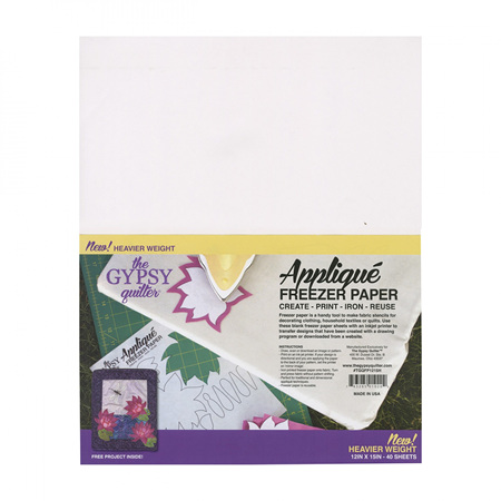 """The Gypsy Quilter Freezer Paper - Large (12"""" x 15"""")"""