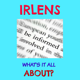 Irlens - What's it all About? with Sandy