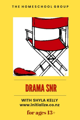 1:30 PM, DRAMA 13+  STUDENTS FROM TERM 4 2019 BOOK HERE