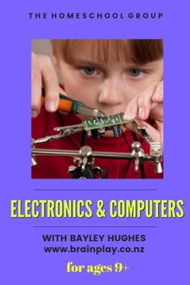 11:00 am ELECTRONICS & COMPUTERS 9+