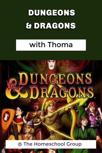 12:30 pm, DUNGEONS & DRAGONS (12 plus)