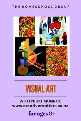 1:30 pm, VISUAL ART 8+