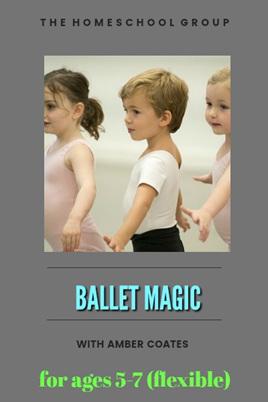 12:00 pm, BALLET MAGIC 5+