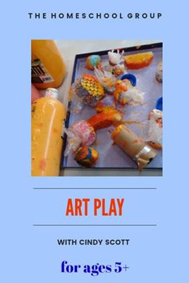 11:00 am ART PLAY 5+