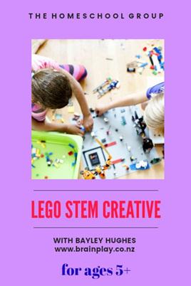 12:30PM, LEGO CREATIONS 5-8
