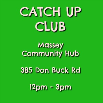Catch Up Club, 19 August 2019