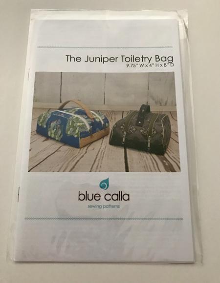 The Juniper Toiletry Bag Pattern