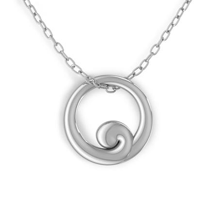 The Koru Circle Pendant