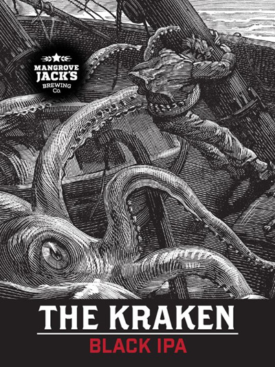 The Kraken Black IPA Grain Kit