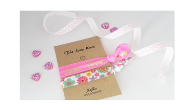 The Love Knot (pink and floral)