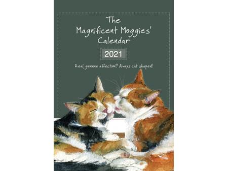 The Magnificent Moggies Calendar 2021