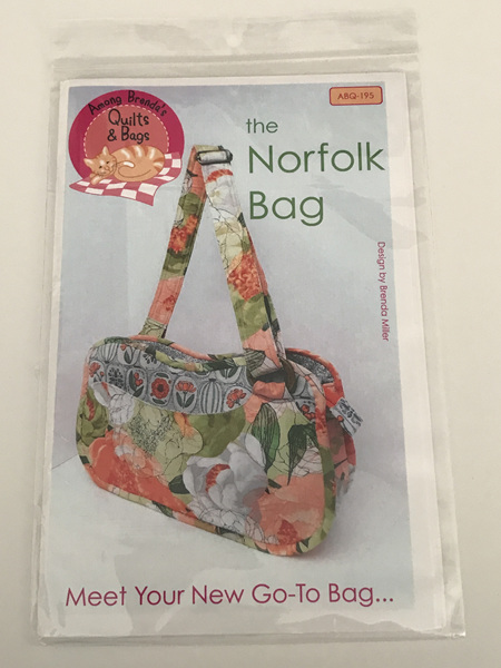 The Norfolk Bag from Among Brenda's Quilts & Bags
