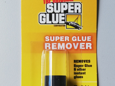 The Original Super Glue - Super Glue Remover