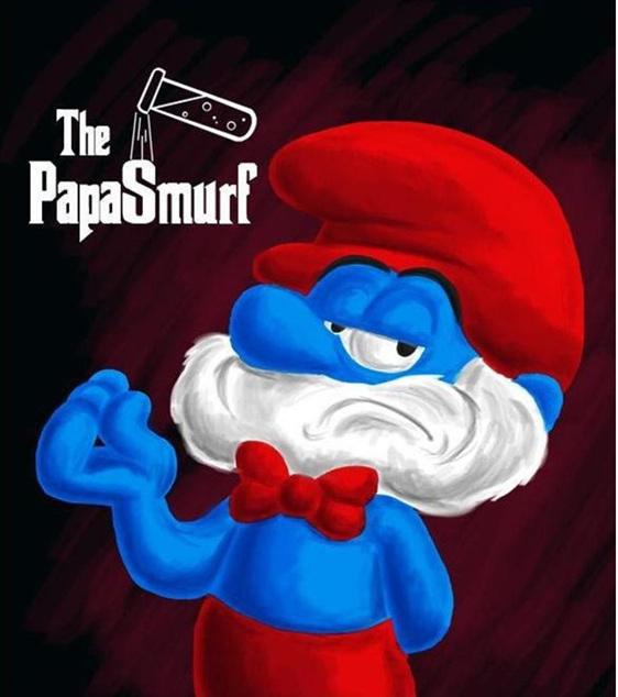 The Papa Smurf Vaporized Nz