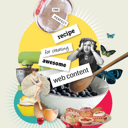 The perfect recipe for creating awesome web content