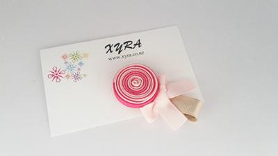 The Pink Lollipop Hair Clip