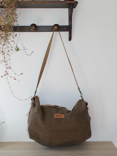 The Raglan Jute Duffle Bag Eco-friendly Biodegradable Recyclable