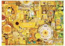 'The Rainbow Project'  Cobble Hill 1000 Piece Jigsaw Puzzle Colour - Yellow