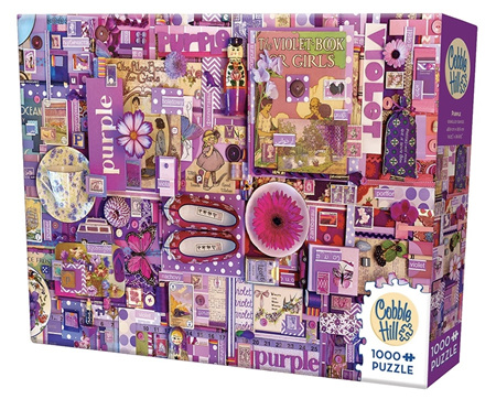 'The Rainbow Project'  Cobble Hill 1000 Piece Jigsaw Puzzle Colour - Purple