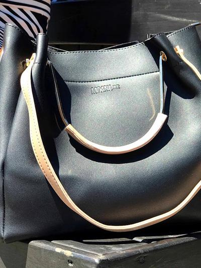 The Remuera Handbag - Black