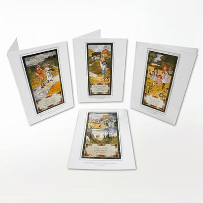 Royal Doulton Tile Card Set