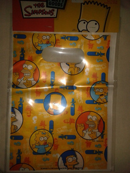 The Simpsons Loot Bags x 8