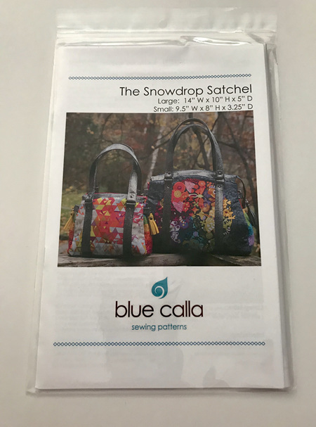 The Snowdrop Satchel Pattern
