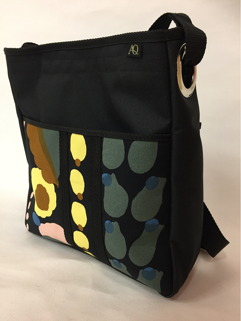 The Sole handbag in designer fabric.  Fab for teachers, mothers &students