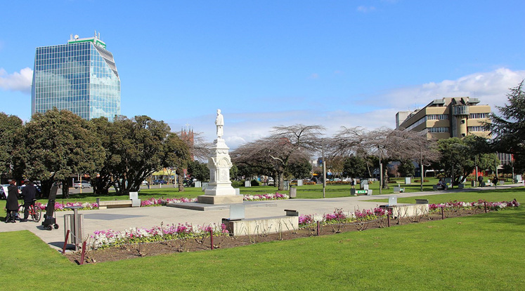 The Square, Palmerston North, New Zealand