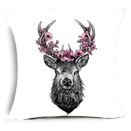 THE STAG CUSHION COVER
