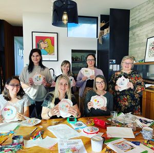 The Stitchsmith embroidery class