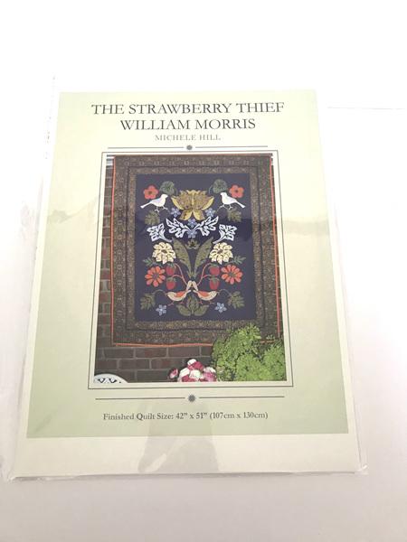 The Strawberry Thief William Morris Applique Quilt Pattern