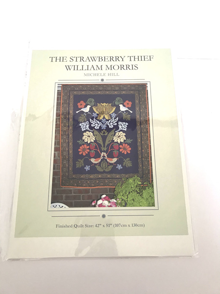 The Strawberry Thief William Morris Applique Quilt Pattern