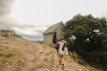 the tor hut old ghost road family tramping with kids