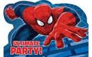 The Unltimate Spiderman Party Invites x 8
