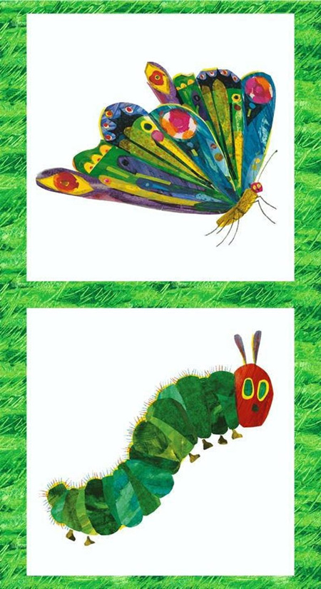 The Very Hungry Caterpillar 2010 Panel
