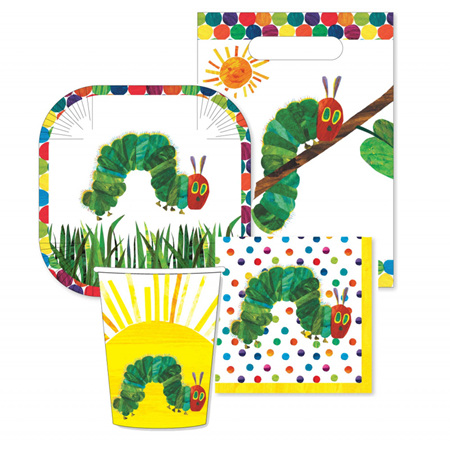 The Very Hungry Caterpillar 40 piece party pack!