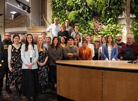 The Village Goldsmith creative team staff photo