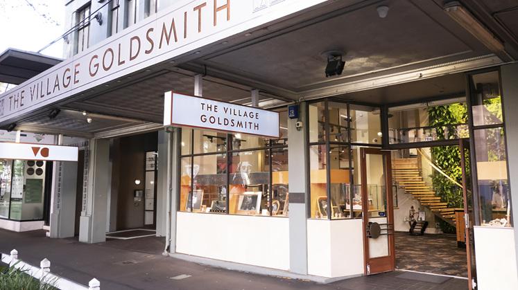 The Village Goldsmith Wellington CBD Store Front - Victoria Street, Te Aro