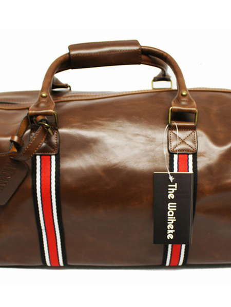 The Waiheke Brown PU  Bag 309
