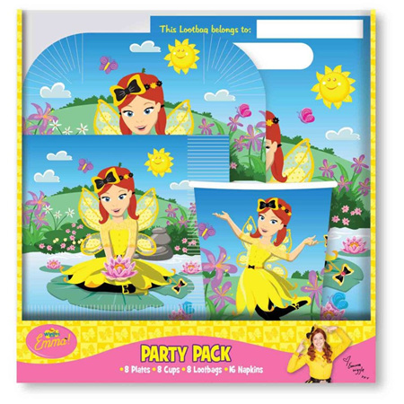 The Wiggles Emma party pack - 40 piece