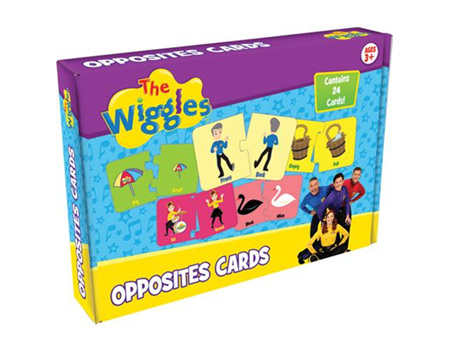 The Wiggles Opposites 24 Cards Ages 3+