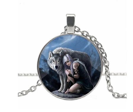 The Wolf & His Luna - SlLVER