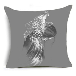 The Wolf Within Cushion Cover