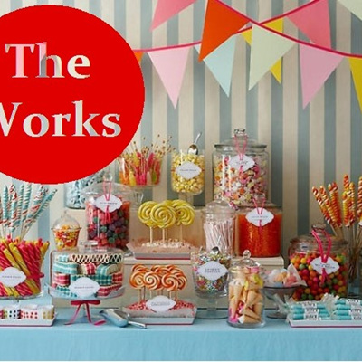 'The Works' Candy Buffet