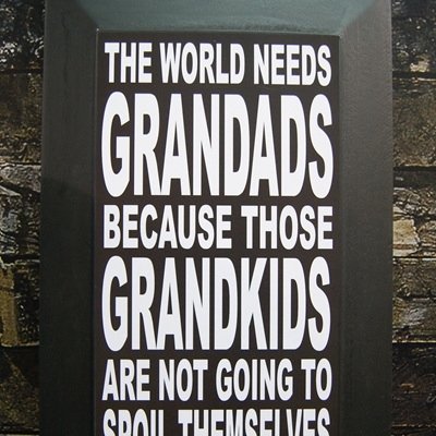 THE WORLD NEEDS GRANDADS