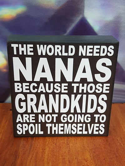 THE WORLD NEEDS NANAS